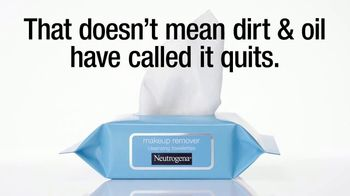 Neutrogena Makeup Remover Cleansing Towelettes TV Spot, 'Makeup Break' Song by Audiomoe