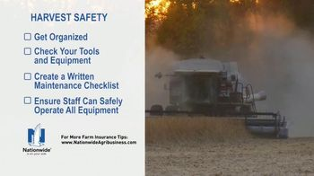 Nationwide Agribusiness TV Spot, 'Harvest Safety Tips' - Thumbnail 3