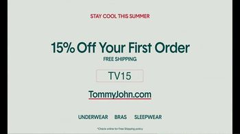 Tommy John TV Spot, 'Sweat-Free: 15% Off' - Thumbnail 7