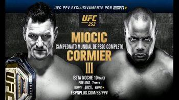 ESPN+ TV Spot, 'UFC 252: Miocic vs. Cormier III' canción de The Score [Spanish] - 75 commercial airings