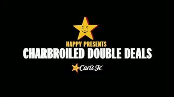Carl's Jr. A.1. Double Cheeseburger TV Spot, 'Charbroiled Double Deals: Tempt You: $3.49' - Thumbnail 1