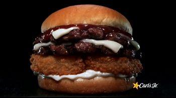 Carl's Jr. A.1. Double Cheeseburger TV Spot, 'Charbroiled Double Deals: Tempt You: $3.49' - Thumbnail 3