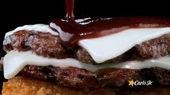 Carl's Jr. A.1. Double Cheeseburger TV Spot, 'Double Up To Feed Your Happy: Bottle Service' - Thumbnail 5