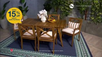 Overstock.com Labor Day Blowout TV Spot, 'Patio Furniture'