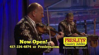 Presleys' Country Jubilee TV Spot, 'Clean Fun'