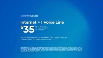 Comcast Business TV Spot, 'Bounce Forward: $35 Internet Plus One Voice Line' - Thumbnail 9