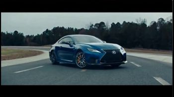 Lexus RC F TV Spot, 'Around the Track' [T1] - 71 commercial airings