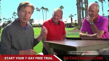 Tathata Golf TV Spot, 'In-Home Training Platform: Free Trial' Featuring Gary McCord, Brandel Chamblee