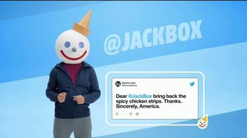 Jack in the Box Spicy Chicken Strips Combo TV Spot, 'So Many Tweets: $4.99' - Thumbnail 2
