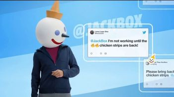 Jack in the Box Spicy Chicken Strips Combo TV Spot, 'So Many Tweets: $4.99' - Thumbnail 5