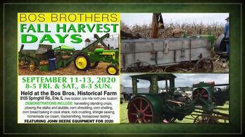 Bos Brothers Historical Farm, Inc. TV Spot, 'Fall Harvest Days: Make Your Plans Now' - Thumbnail 2