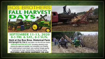Bos Brothers Historical Farm, Inc. TV Spot, 'Fall Harvest Days: Make Your Plans Now' - Thumbnail 3
