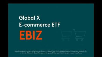 Global X Funds EBIZ TV Spot, 'E-Commerce ETF'