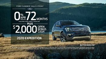 Ford Summer Sales Event TV Spot, 'Make the Most' Song by Kygo, Whitney Houston [T2] - Thumbnail 7