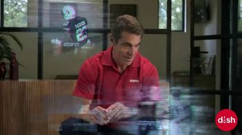 Dish Network TV Spot, 'Get College Football Stats and More: Ping Pong' Featuring Chris Fowler - Thumbnail 5