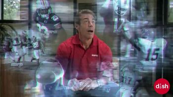 Dish Network TV Spot, 'Get College Football Stats and More: Ping Pong' Featuring Chris Fowler - Thumbnail 6