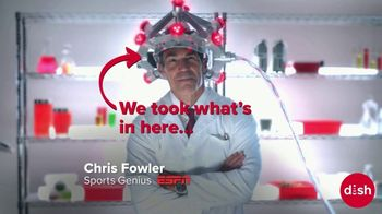 Dish Network TV Spot, 'Get College Football and Stats and More' Featuring Chris Fowler