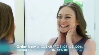 Clear Probiotics Immune Health TV Spot, 'Lip Breakouts: 50% Off' - 64 commercial airings