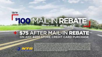 National Tire & Battery Big Brands Bonus Month TV Spot, 'Tire Rebate' - Thumbnail 9
