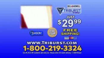 Bell + Howell Triburst LED Light TV Spot, 'Crazy Bright: Free Shipping: Five-Year Guarantee' - Thumbnail 9