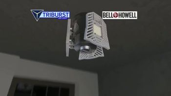 Bell + Howell Triburst LED Light TV Spot, 'Crazy Bright: Free Shipping: Five-Year Guarantee' - Thumbnail 2