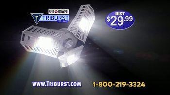 Bell + Howell Triburst LED Light TV Spot, 'Crazy Bright: Free Shipping: Five-Year Guarantee' - Thumbnail 8