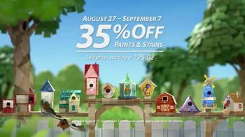 Sherwin-Williams TV Spot, 'Dress Your Nest: 35%' - Thumbnail 7