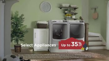 Lowe's TV Spot, 'Called It Quits: Maytag Laundry Pair' - Thumbnail 5