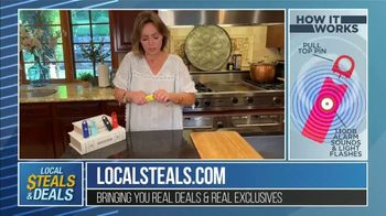 Local Steals & Deals TV Spot, \'Birdie Personal Safety Alarm\' Featuring Lisa Robertson