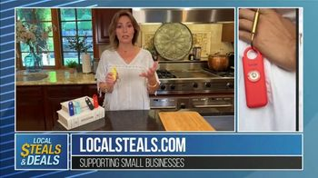 Local Steals & Deals TV Spot, 'Birdie Personal Safety Alarm' Featuring Lisa Robertson - Thumbnail 8