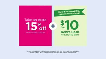 Kohl's TV Spot, 'Women's Tops, adidas and Sonoma Bath Towels' - Thumbnail 5