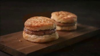 Bojangles Sausage Biscuit TV Spot, 'Back in My Day: 2 for $2.50'