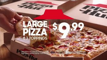 Pizza Hut Large 3-Topping Pizza TV Spot, 'Try Something Different'