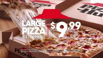 Pizza Hut Large 3-Topping Pizza TV Spot, 'Try Something Different' - Thumbnail 8