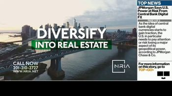 National Realty Investment Advisors, LLC TV Spot, 'Steady Cash Flow Plus Safety' - Thumbnail 1