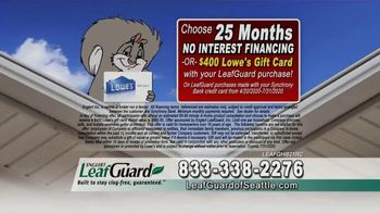 LeafGuard of Seattle $99 Install Sale TV Spot, 'Disastrous Damage' - Thumbnail 3