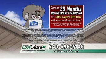 LeafGuard of DC $99 Install Sale TV Spot, 'Disastrous Damage' - Thumbnail 7