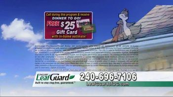 LeafGuard of DC $99 Install Sale TV Spot, 'Disastrous Damage' - Thumbnail 8