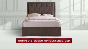 Rooms to Go Memorial Day Sale TV Spot, 'Complete Queen Upholstered Beds' - Thumbnail 6