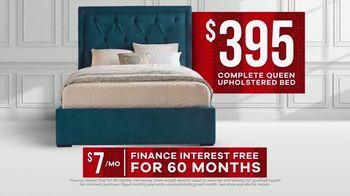 Rooms to Go Memorial Day Sale TV Spot, 'Complete Queen Upholstered Beds' - Thumbnail 8