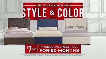Rooms to Go Memorial Day Sale TV Spot, 'Complete Queen Upholstered Beds' - Thumbnail 9
