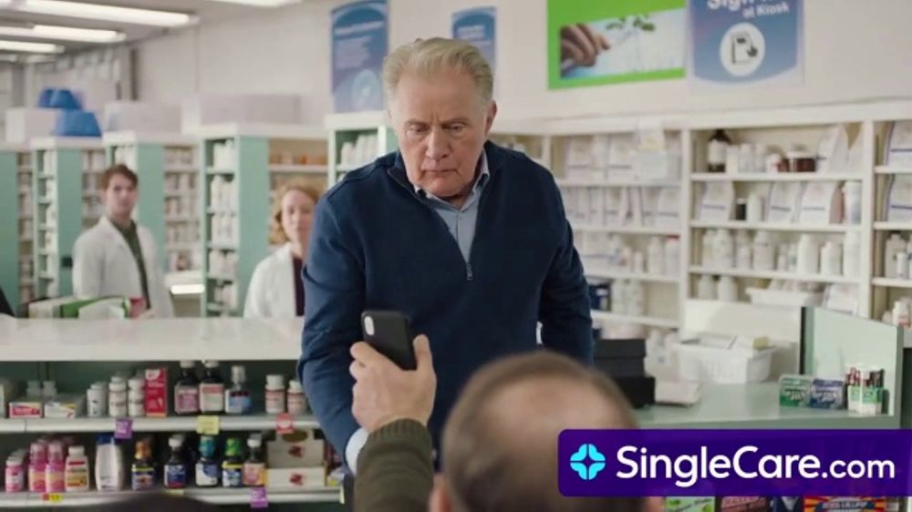 Single Care TV Commercial, 'Martin Sheen Saves on Prescription Drugs'