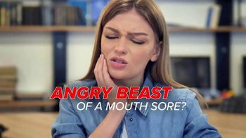 CUROXEN Mouth Sore Treatment TV Spot, 'Angry Beast'
