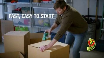 Duck Brand EZStart Packaging Tape TV Spot, 'Getting Things Done'