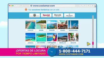 Costamar Travel TV Spot, 'Ofertas de locura' [Spanish] - Thumbnail 5