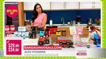 Gangas & Deals TV Spot, 'Alfa Vitamin y Perfect Keto' con Aleyda Ortiz [Spanish] - Thumbnail 3