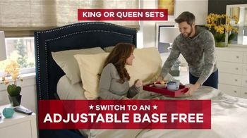 Rooms to Go Memorial Day Sale TV Spot, 'Buy Mattress Set, Switch to Adjustable Base' - Thumbnail 9