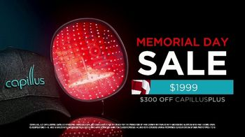 Capillus Memorial Day Sale TV Spot, 'Treat Hair Loss at Home' - Thumbnail 8