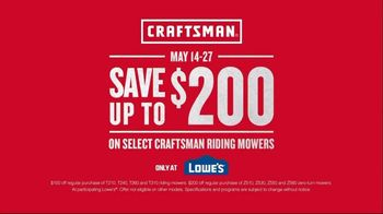 Craftsman TV Spot, 'Finished Project: Save $200' - Thumbnail 9