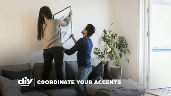 HGTV HOME by Sherwin-Williams TV Spot, 'DIY Network: Coordinate Your Accents' - Thumbnail 1